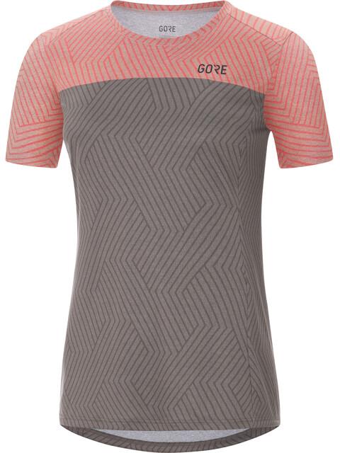GORE WEAR R3 Optiline Shirts Women terra grey/lumi melange